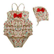 Los niños de dos piezas del traje de baño sexy micro naughty girl traje de baño traje de baño con volantes