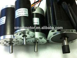 CE RoHS brushless / brushed high torque 24v dc electric motor 24 volt, option for gearbox, encoder, brake