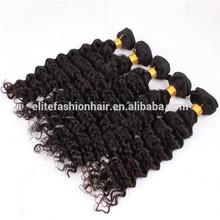 Full cuticle unprocessed 5A 100% virgin shedding-free deep wavy hair wholesale