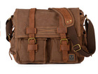 European-American style vintage canvas pack casual shoulder bag