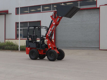 D25 4WD Quick Hitch mini garden tractor front end loader