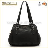 High quality ladies design shoulder bags woman tote bags black bags