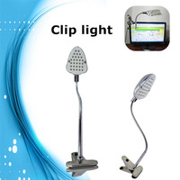 Useful LED Touch Clip Lamp with High Strength Clamping Force