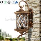 High quality garden spike led light aluminium glass mosaic solar garden lighting