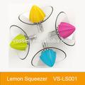 De plástico exprimidor de limón/exprimidor de limón