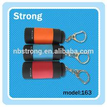 Wholesale Promotional Gift novelty one white lights USB LED Flashlight