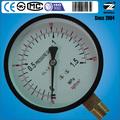 ( de y- 100) 100mm doble escala del dial de baja presión del manómetro hilo de medición de gas de la estación