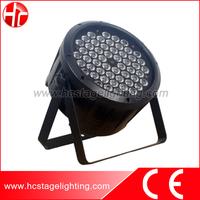 led dj lights china 54*3W RGBW/RGBWA disco par light
