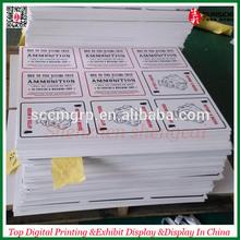 Shenzhen Direct factory pvc foam board printing