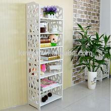 portable folding decor book case shelf