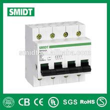 20A-125A 4pole mini circuit breaker mcb channel
