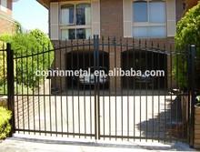 galvanized steel drive way gates / decorative metal garden gates / modern gates design /