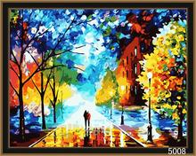 DIY new design canvas handmade oil painting