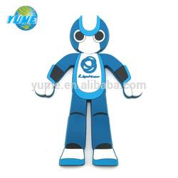 Promotional Carton Design Embossed Plastic Soft Rubber PVC Magnetic Fridge Magnet - Factory Directly