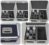 Hard case egg foam cnc foam aluminum microphone case hold 12pcs