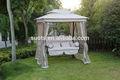 Vente chaude 2 sièges garden patio extérieur balançoire suspendue chaise hamac