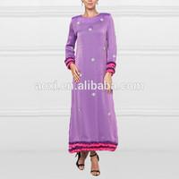 China Direct Factory Wholesale Elegant Ladies Long Musilim Evening Dress Women Fashion Dress Muslimah Jubah