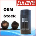 Hair product natural hair building fibers thickening hair OEM 18 colors