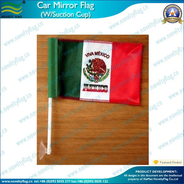 Mexico car flag dangler