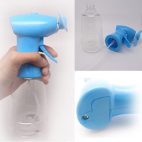 Battery operated enviromentallly friendly ABS plastic insulated hanheld mini electric hand fan