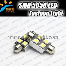 Car festoon dome light reading lamp Canbus led interior light 36mm auto led festoon light for all cars