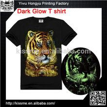 China Wholesale Custom luminous el animated panel t shirt