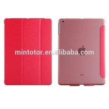 Ultra thin foldable pu leather case for iPad mini 2
