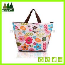 Summer hot sale folding cooler bag , camping cooler bag for fresh food