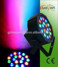 mini can 18*1W led par RGB light wash dj par light with fans