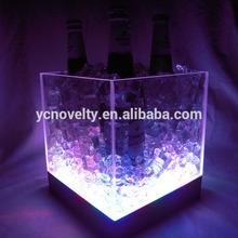 LED Ice Bucket for Beer/Pop OEM Acrylic Ice Bucket