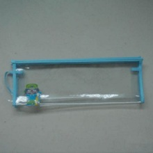 PVC small zipper bags plastic pen case