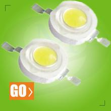 Super Bright 3.0-3.4Volt 350mA 120-130LM 42000-45500 MCD Epistar 1W High Power LED 7w high power led down light