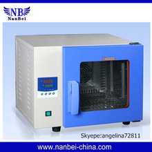 Desktop blower electrode drying oven for lab use