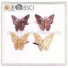 wholesale fashion girls hair clip girls butterfly hair clip