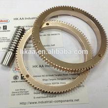 china custom brass flywheel starter ring gear