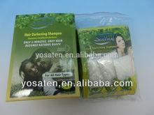 Hair Dying Shampoo/Herbal Hair Darkening Shampoo/Easy Color Hair Dye