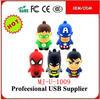 Hot ! Avengers Super Hero Spiderman Batman Pen Drive , Bulk Cheap Batman Usb Flash Drive