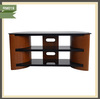 wooden furniture lcd universal table top round tv stand