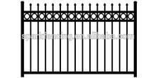 Hot sale aluminium fencing prices/aluminium fence slats/aluminium fence profile
