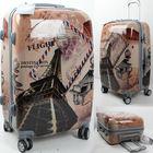 ABS/PC 3pc 20/24/28 size personalized trolley Luggage set ODM guangzhou / DongGuan