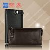 high quality men soft leather hand bag