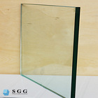 CE Standard 10mm glass wall price, partition wall glass supplier, toughened wall glass Shenzhen