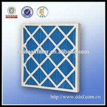 Cardboard fiberglass air cleaner filters for generators
