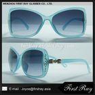 fashion design and good price sunglasses with company logo