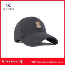 2014 new style fashion high quality 100 cotton sports baseball cap with leather patch logo