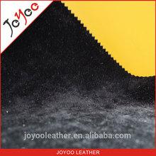 Reunindo couro sintético do plutônio, material do plutônio para sapato fazendo, 100% superior pu couro sintético para calçados