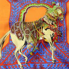2013 European Hot Fashion Lady Indian Silk Scarf