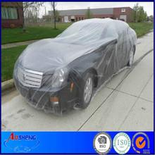 disposable PE plastic car cover(S,M,L)