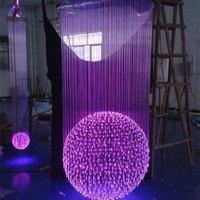 PVC Fiber Optic Light Cable For Lighting Decoration /led decoration light for wedding