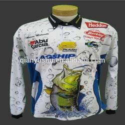 Factory custom tournament fishing jerseys
